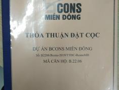 Chính chủ bán bán căn 1PN Bcons Miền Đông, miễn môi giới, miễn dò giá. Anh Tổng:0933194633