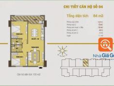 Ia đình tôi cần bán căn hộ chung cư 84m2, 25,5tr/m, C37 - Bắc Hà, Tố Hữu