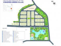 Bán căn biệt thự đẹp nhất dự án - lô góc - Đông Nam - mặt hồ dự án Vinhomes Green Villas