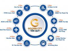 Đất nền Golden City Củ Chi, sinh lời ngay khi cọc