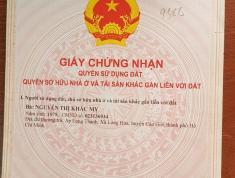 Chính chủ cần bán đất nền 110m2 tại Đường Duyên Hải, Xã Long Hòa, Huyện Cần Giờ, Tp Hồ Chí Minh