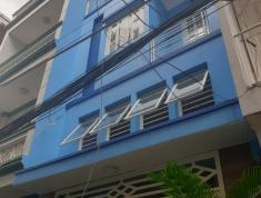 Nhà Hẻm ba gác 3.5m sạch sẽ Nơ Trang Long, trệt 2 lầu, DTSD 160m2