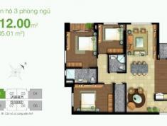 Cần bán căn hộ 3PN- 112m2 Tropic Garden, căn góc 2 view sông, Full nội thất, giá 4.8 tỷ. LH 0332040992