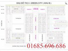 Lô đất shophouse B-SH10, Chính chủ bán DT 102m2 - V-Green City Phố Nối,Hưng Yên