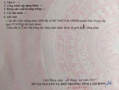 Cần bán nhanh lô đất xã Hiệp Thạnh - Huyện Đức Trọng - Tỉnh Lâm Đồng. Cách Đà Lạt 25km