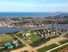 Bán đất sổ đỏ đầu tư mặt đường 60m,  tiềm năng tăng giá 300% ,3 mặt giáp sông, gần biển