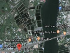 Đất nền mặt tiền Đinh Tiên Hoàng - Cam Lâm