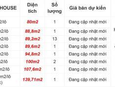 21 nền shophouse xuất nội bộ dự án Nam Khang Residence 45tr/m2
