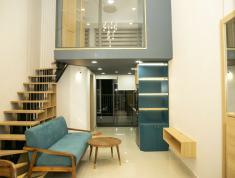 Cho thuê căn hộ 1 phòng ngủ có lững, đầy đủ nội thất như hình. Lh 0918860304