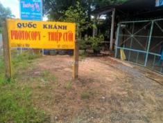 Chính chủ cần bán đất mặt tiền QL22B Trà Vong, Tân Biên, Tây Ninh 8x90m2