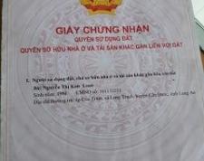 CHÍNH CHỦ CẦN BÁN ĐẤT Ấp Long Khánh- Xã Phước Hậu- Huyện Cần Giuộc- Tỉnh Long An