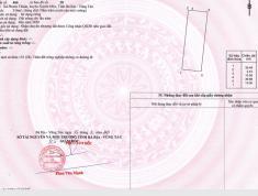 Bán đất Vũng Tàu , sổ hồng riêng,giá 900tr, cam kết lợi nhuận 15% chỉ sau 6 tháng.