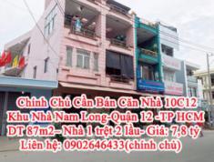 Bán Căn Nhà 10C12-Khu Nhà Nam Long, Quận 12 -TP Hồ Chí Minh