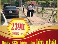 ĐẤT NỀN ĐẨU TƯ GIÁ RẺ - LỢI NHUẬN CAO - NGAY TẠI KCN MINH HƯNG HÀN QUỐC