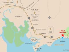 Mở bán đất nền nhà phố,biệt thự ven biển Hồ Tràm-Xuyên Mộc