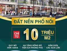 Cơ hội đầu tư lớn nhất 2019 tại tỉnh Hưng Yên. Đất nền New City Phố Nối