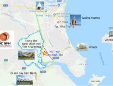 Cần bán đất có sổ Hồng mặt tiền đường Võ Văn Kiệt rộng 40m khu đô thị An Bình Tân Nha Trang.