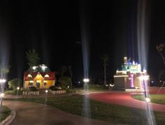 Đất nền Mặt Tiền Chợ Đêm13m , sát bên là trường nghề ,Sổ Riêng , có 4 khu công viên..Đối diện bên
