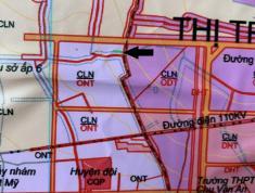 Bán đất gần UBND thị trấn Chơn Thành, Bình Phước diện tích 200m2 giá 540 triệu
