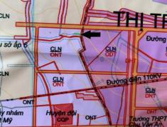 Bán đất trả góp  thị trấn Chơn Thành sau lưng huyện đội, sát trung tâm thị trấn.