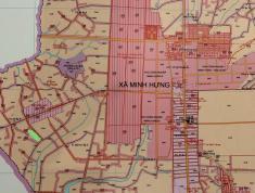 Bán đất gần KCN Minh Hưng 3, Chơn Thành, Bình Phước giá chỉ 1 triệu/m2.