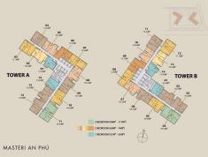 Căn hộ Masteri 2PN view hồ bơi diện tích lớn, giá 3.85 tỷ, ở ngay LH 0931 844 788