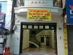 Cho thuê nhà, mặt phố 101 B Nguyễn Khuyến Đống Đa Hà nội. Có thể thuê từng phần.
