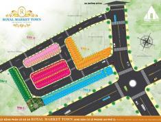Đất nền TP Thuận A, Bình Dương chỉ 1 tỷ 6 MT đường 22m - Royal Market Town