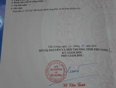 Bánh nhà mặt đất chính chủ ở đường Phạm Hùng – Trung An – Mỹ Tho – Tiền Giang - 250m2