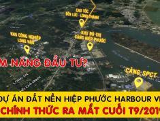 Tiềm năng sinh lời cực kỳ cao từ dự án đất nền thổ cư Cần Giuộc, Ngay cảng Hiệp Phước
