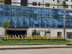 Cho thuê chung cư Homyland 3, Căn góc 3Pn, 2wc, Rèm+Máy lạnh, bếp. Lh 0918860304