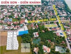 Đất nền Diên Khánh giá chỉ 4-5 triệu, mặt đường lớn, vị trí trung tâm