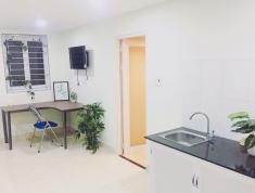 Cho thuê căn hộ dịch vụ đầy đủ nội thất, 40m2, dọn vào ở ngay, giờ giấc tụ do.