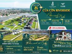 [Mở bán]100 lô đẹp nhất dự án Cửa Cờn Riverside Hoàng Mai - 3 mặt view sông - từ 1,2 tỷ-0914200366