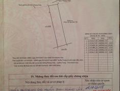 Cần bán lô đất đường B1 khu đô thị VCN Phước Hải, Nha Trang đã có giấy phép xây dựng 7 tầng.