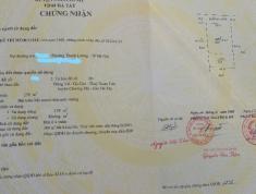 Gia đình cần bán mảnh đất 279m2 tại thôn Gò Cáo, Thủy Xuân Tiên, Chương Mỹ, Hà Nội.