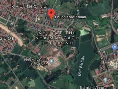 Bán đất phân lô khu Đồng Rừng, Hội Hợp, Vĩnh Yên