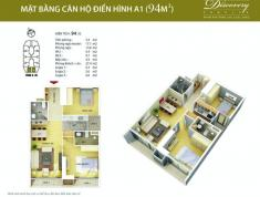 0903083156 - Cho thuê Căn hộ: 2-3-4PN, đủ đồ chung cư Discovery Complex - 302 Cầu Giấy