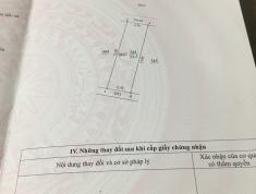Bán 1,66 tỷ mảnh  52,5m2 đất sổ đổ,  khu qui hoạch, vị tri đẹp, tại Đan Phượng Hà Nội