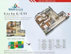 Chính chủ Bán  căn hộ CC Gelexia Riverside 885 Tam Trinh, 3 PN 101 m2, tòa CT3. LH 0983.667.622