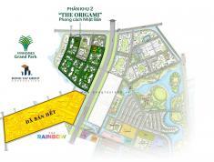 Nhận Booking Vinhomes Grand Park Phân Khu 2 – 3 Origami, Giá CĐT