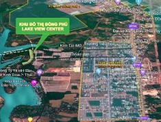 CƠ HỘI HIẾM GẶP ĐẦU TƯ BĐS BÌNH PHƯỚC - Lô đất nằm trong Khu Đô Thị  ĐỒNG PHÚ LAKE VIEW CENTER