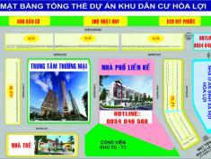 Dự án đất nền 2 mặt tiền đường Lê Lợi, gần trung tâm Hành Chính Thành Phố Mới Bình Dương.