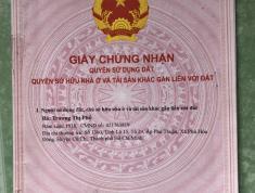 Chính chủ gửi tin bán đất tại Phú Hòa Đông - Củ Chi - HCM
