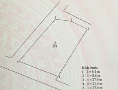 Đất Giao Tự, KIm Sơn, 3 mặt tiền, đường 4,5 m, giá 6,5 tr