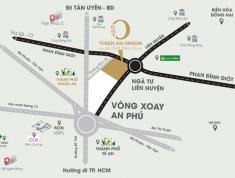 Bán lô đất đối diện khu dân cư Việt Sing Thuân An Bình Dương