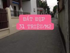 Bán đất trung tâm TP Hà Nội chỉ có 31tr/m2 sổ đỏ chính chủ