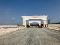 Bán đất KCN 100m2, thổ cư 100%, mặt tiền 32m, đối diện công viên giá chỉ 450 triệu lh 0963.161.461