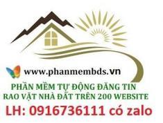 Chỉ mất 5-10 phút để đăng tin BĐS miễn phí lên 180-200 website bất động sản uy tín nhất SG hiện nay