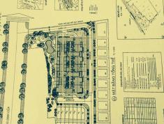 Bán đất đường số 4 gần chợ bình khánh  cầu thủ thiêm nền A3 (101m) 190 triệu/m2